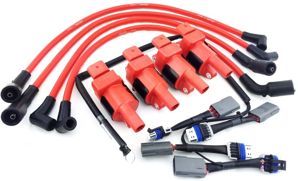 Ignition Coils Mazda 10mm Wires Rx