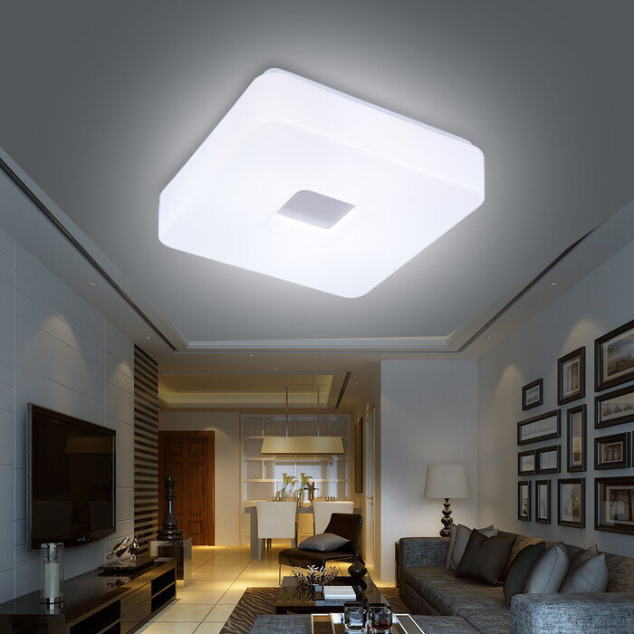 modern cheap acrylic led ceiling fixture lighting bedroom 14933 | s l1000