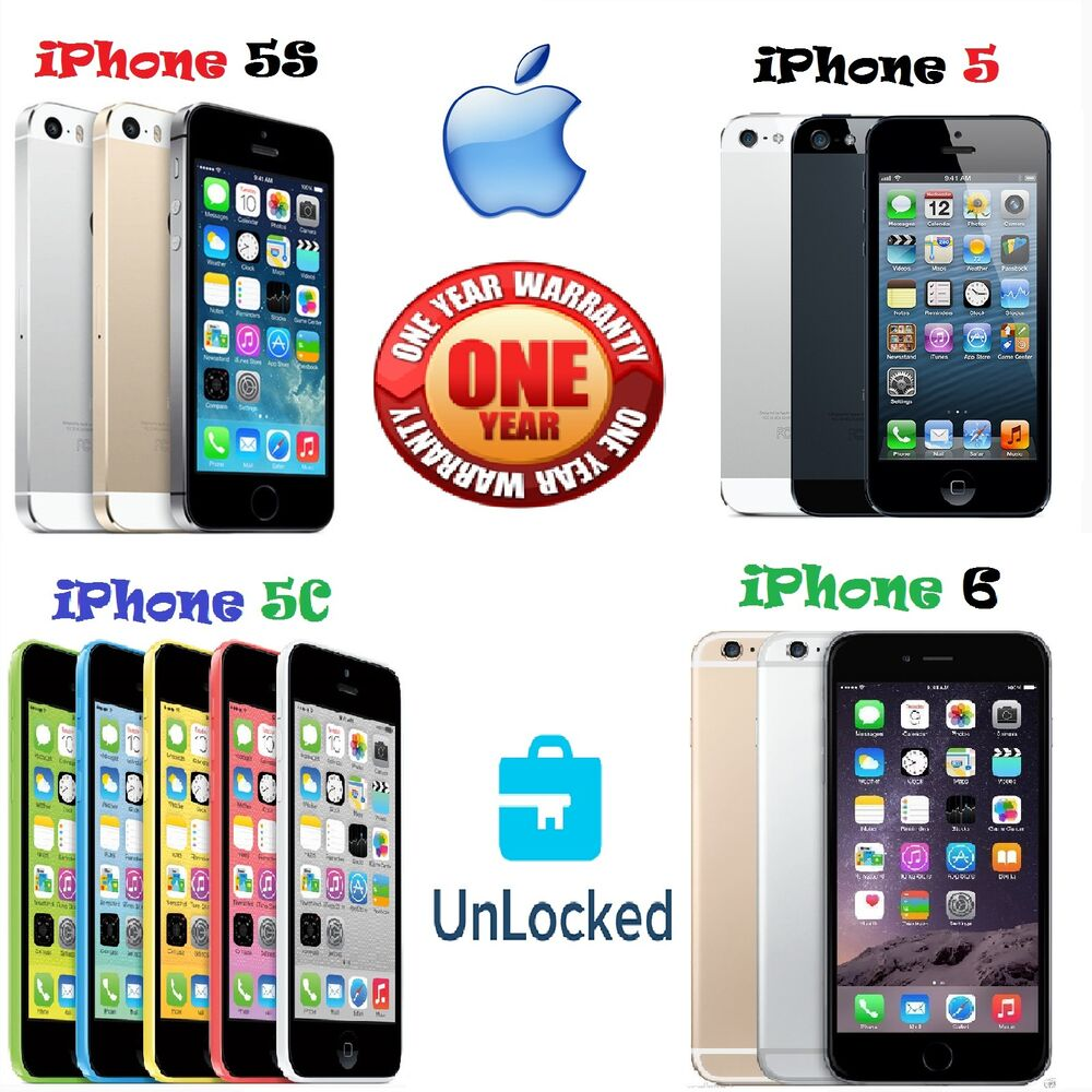 apple iphone 5c 5 5s 6 16gb 32gb 64gb 128gb. Black Bedroom Furniture Sets. Home Design Ideas