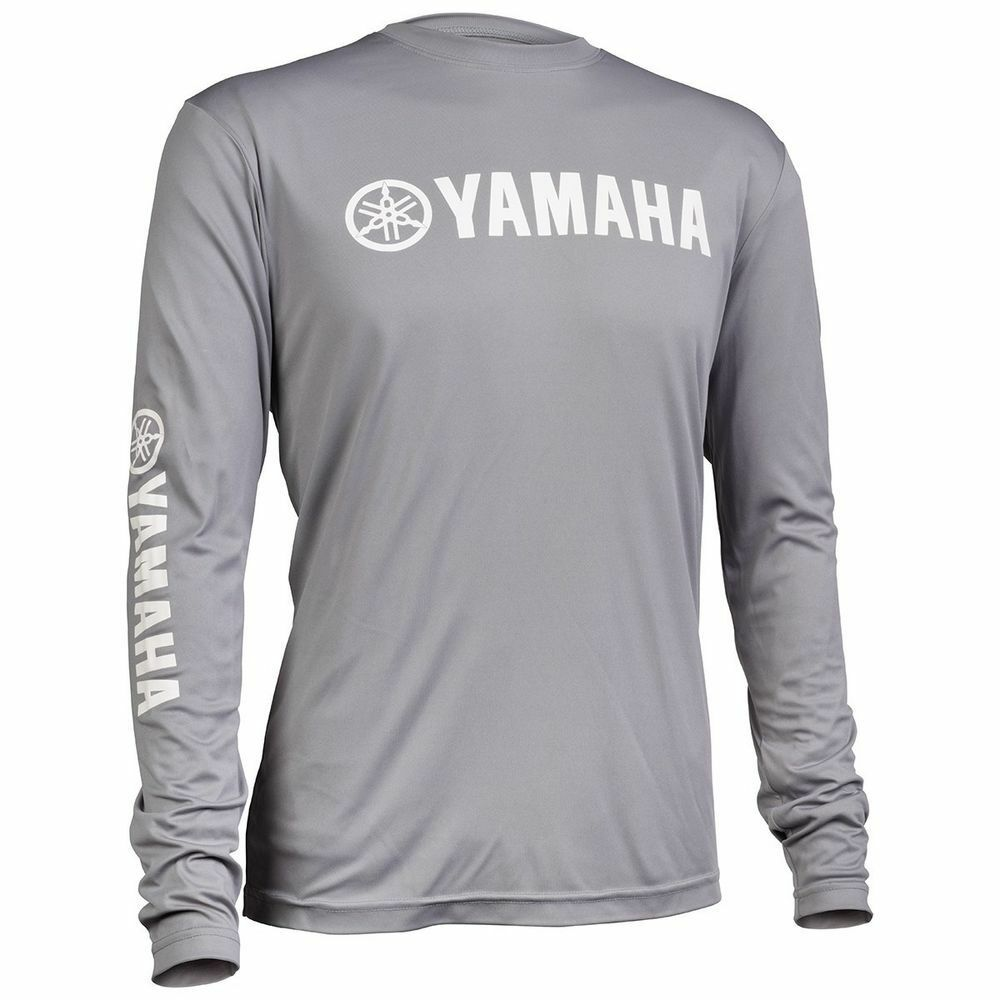 yamaha pro fishing moisture wicking long sleeve t shirt xl. Black Bedroom Furniture Sets. Home Design Ideas