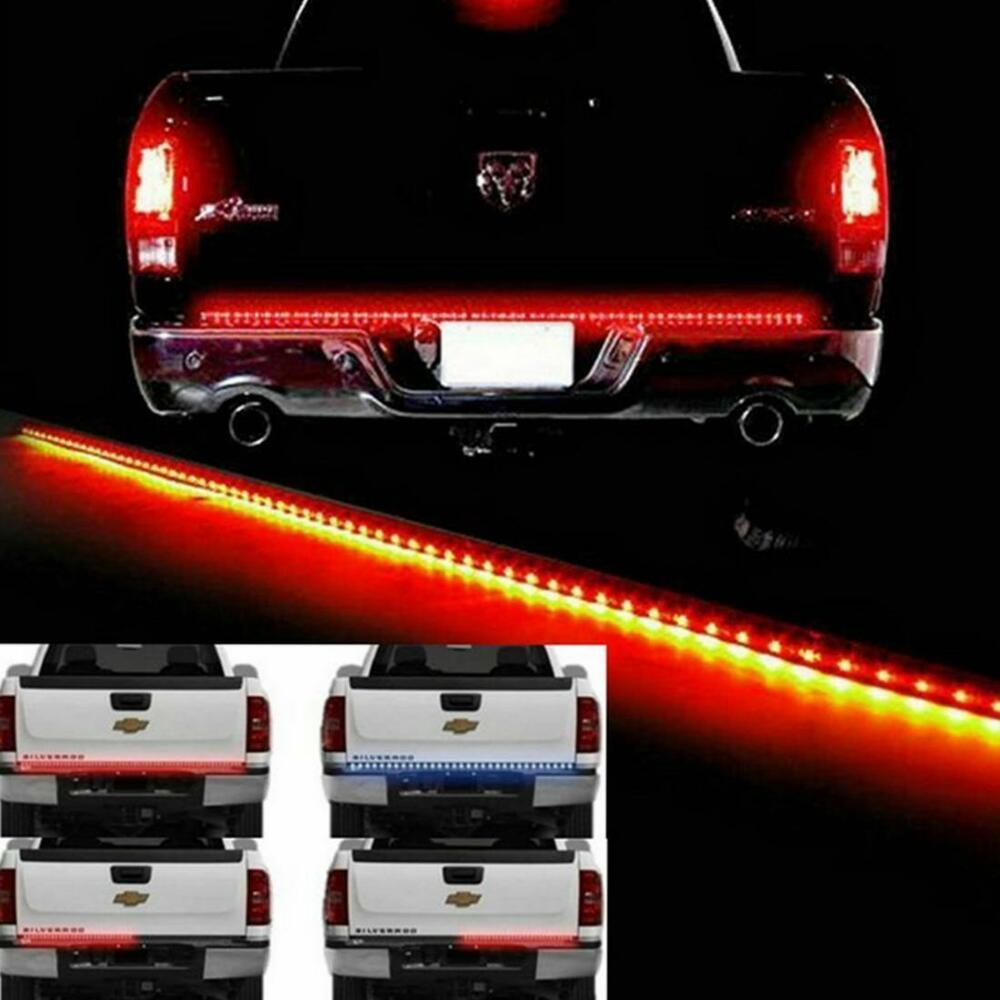 "New 60"" LED Strip Light Bar Reverse Tail Gate Brake Turn ..."