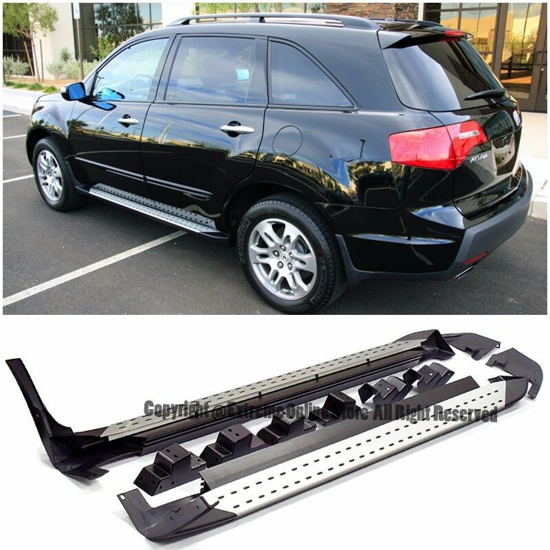 For 07-09 Acura MDX Factory Style Aluminum Side Step Nerf