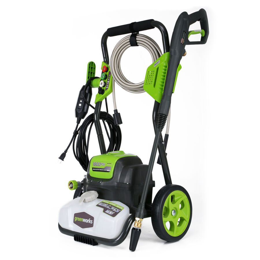 1800 Psi 1 1 Gpm Deck Patio Car Window Home Cold Water Electric Pressure Washer Ebay