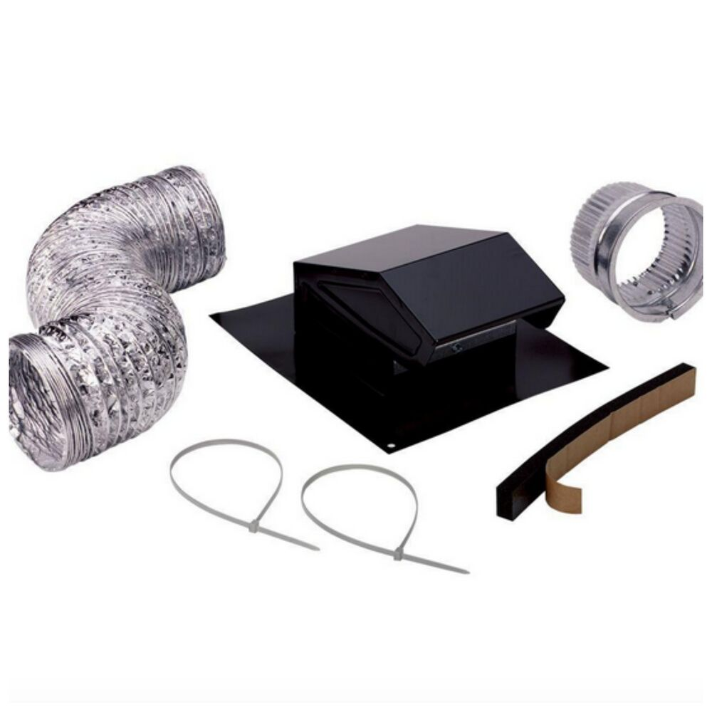 broan roof vent cap duct kit roofing attic exhaust fan