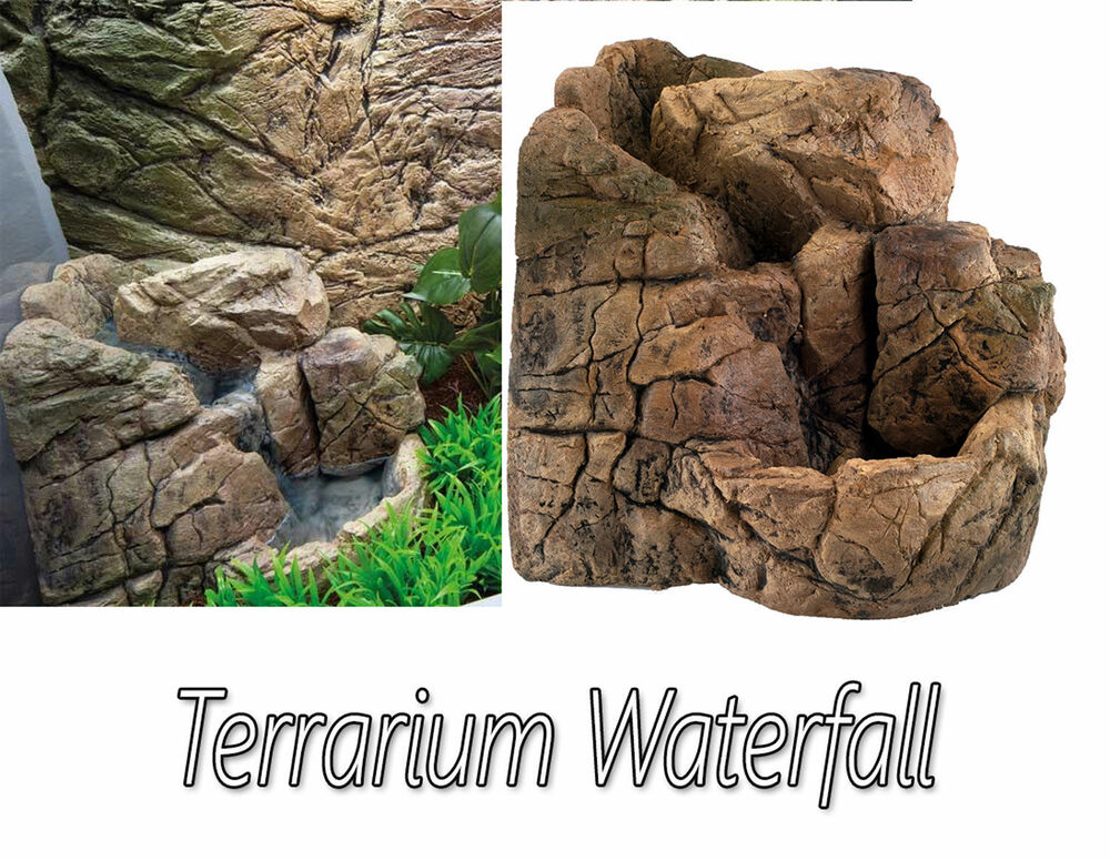 Small Terrarium Waterfall For Vivarium Reptile Dragon