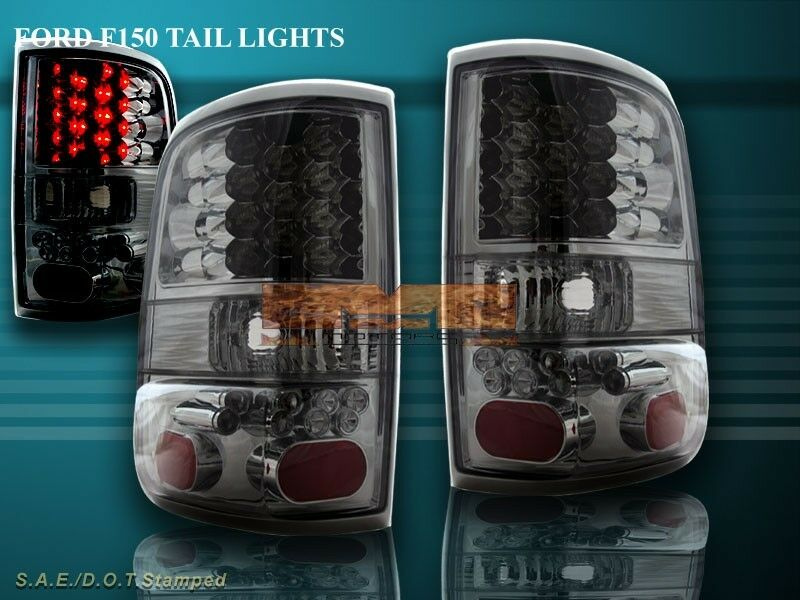 Details About 04 05 06 07 08 Ford F 150 F150 Tail Lights Smoke Styleside Led