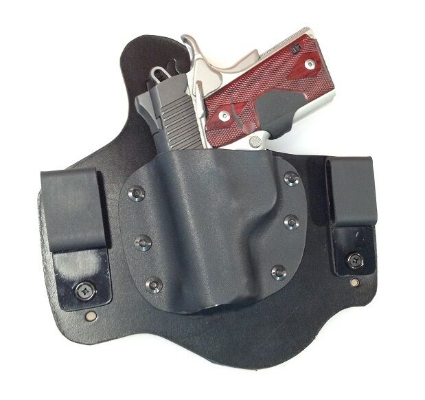 Leather Kydex Holster KIMBER ULTRA CARRY II 9mm 40 45 ...