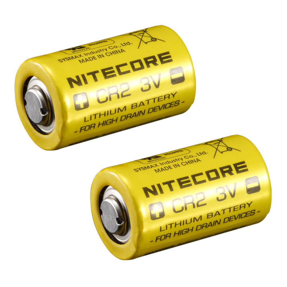 nitecore cr2 750mah 3v lithium battery high performance photo camera single use ebay. Black Bedroom Furniture Sets. Home Design Ideas
