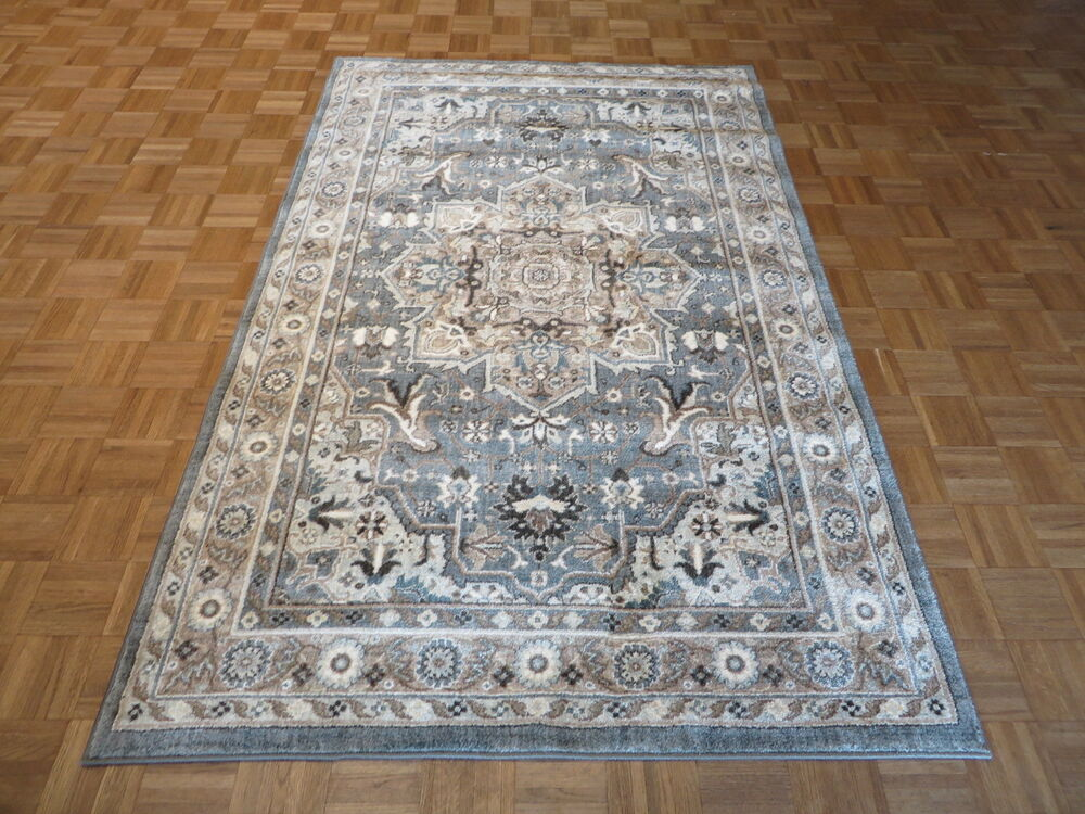9 39 6 x 13 brand new karastan rug euphoria rhodes ash grey for Where can i buy area rugs