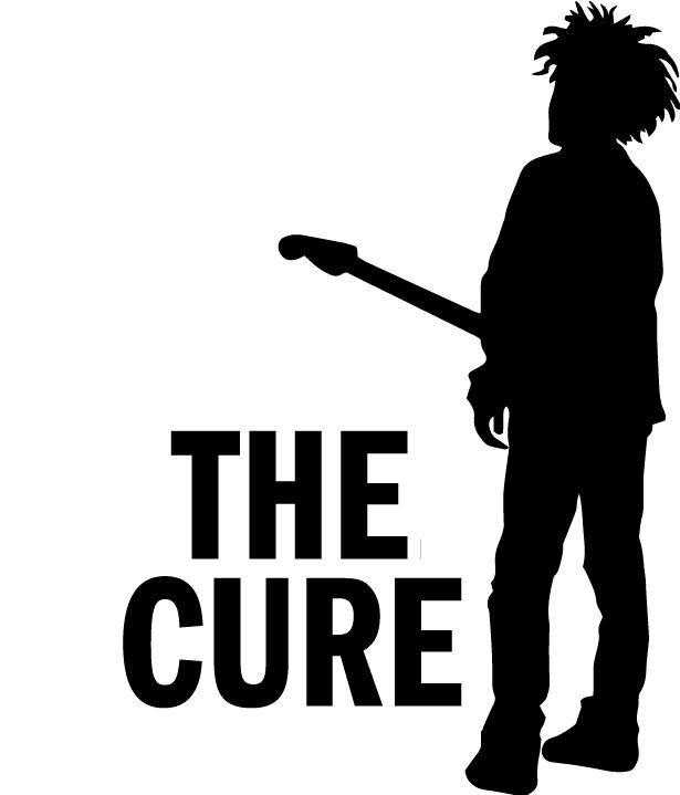 The Cure Vinyl Decal Robert Smith Car Window Laptop
