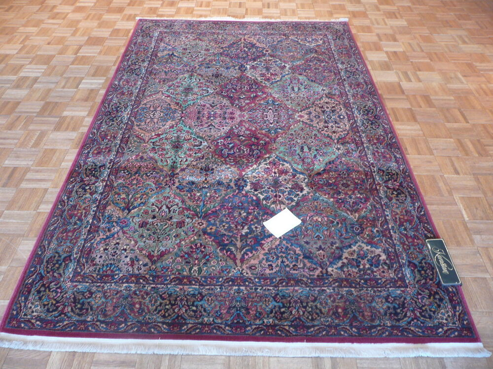 10 X 14 Brand New Karastan Rug Multicolor Panel Kirman 717
