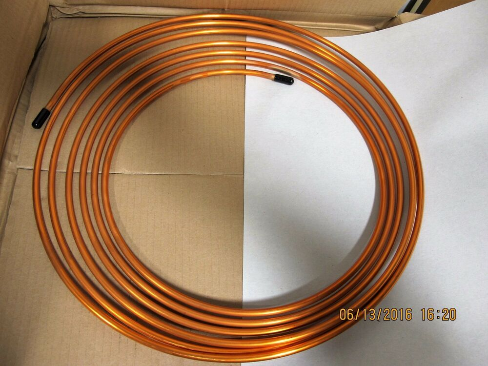 5 16 X 25 Soft Coil Refrigeration Copper Tubing Military