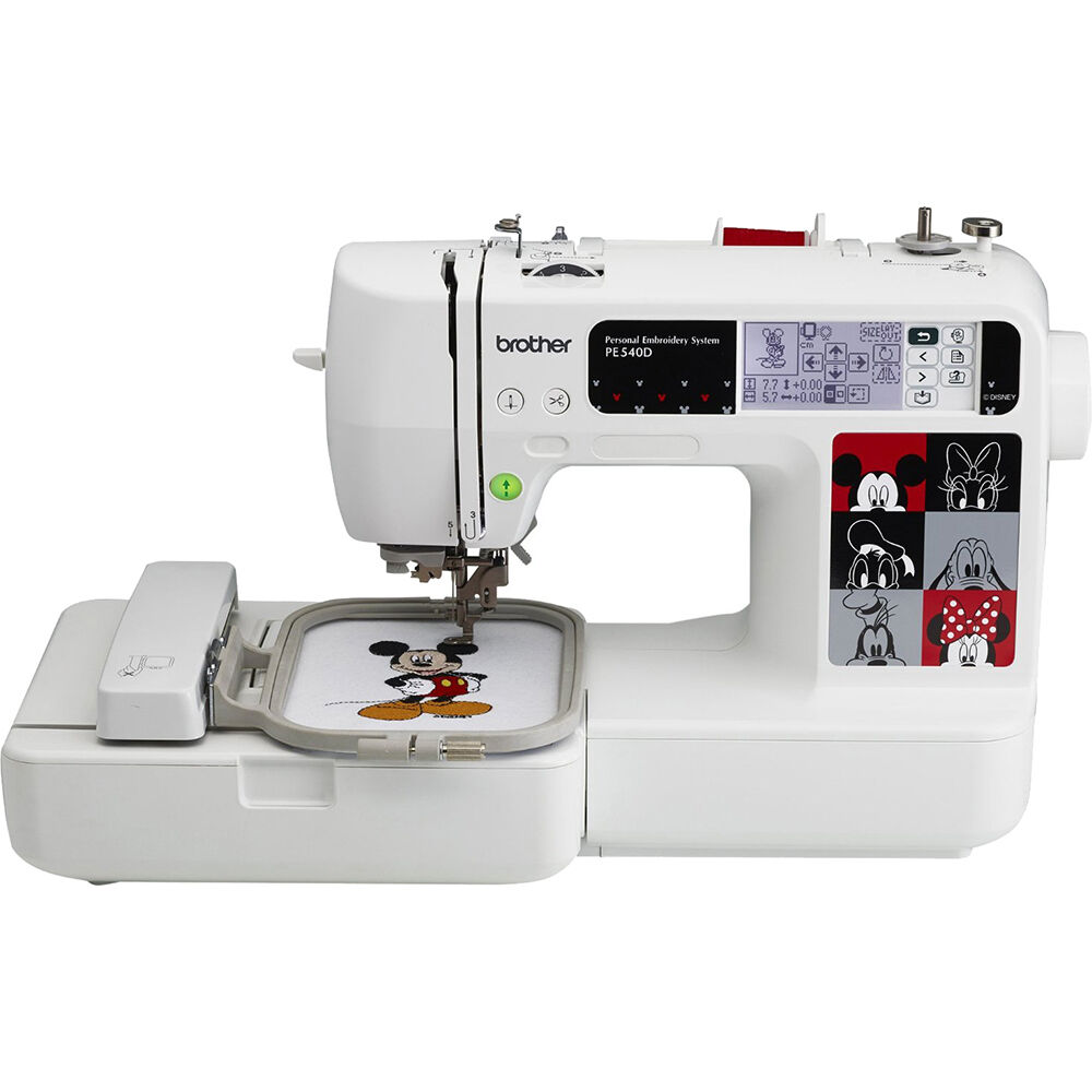Brother pe d embroidery machine with decorative
