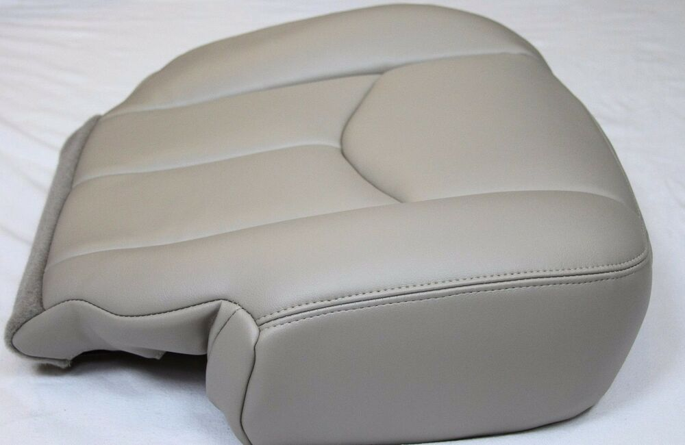 Gm Replacement Seat Covers : Chevy tahoe suburban driver synth leather