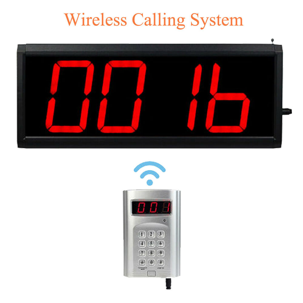 Wireless Call Number System Restaurant Paging Queuing