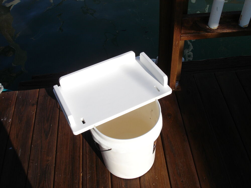 Bait Board Fish Cleaning Board For Bucket Or Rodholder