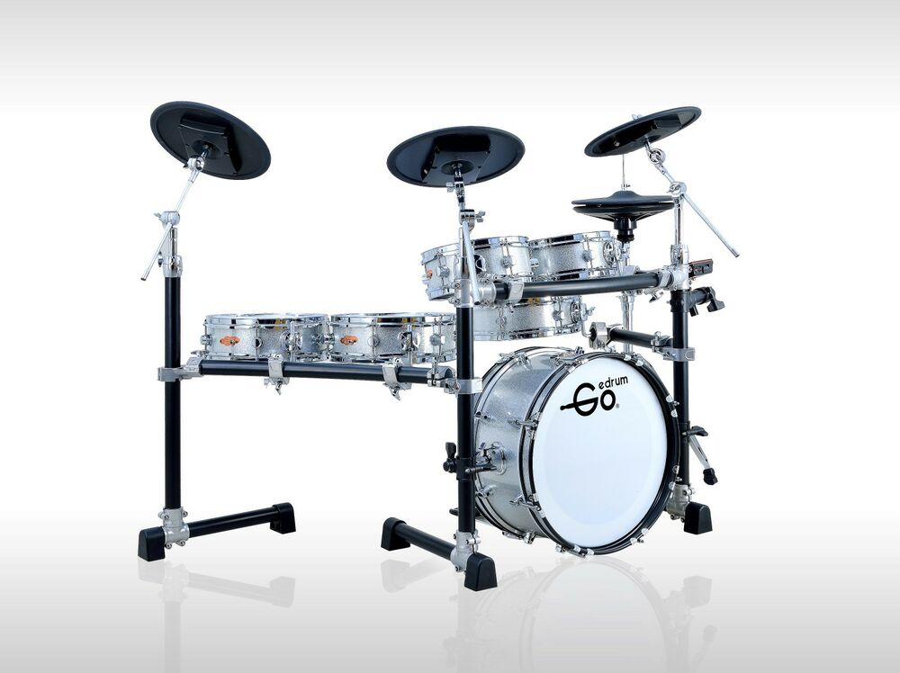 goedrum ke6 electric drum set electronic drum kit digital drums edrums ebay. Black Bedroom Furniture Sets. Home Design Ideas