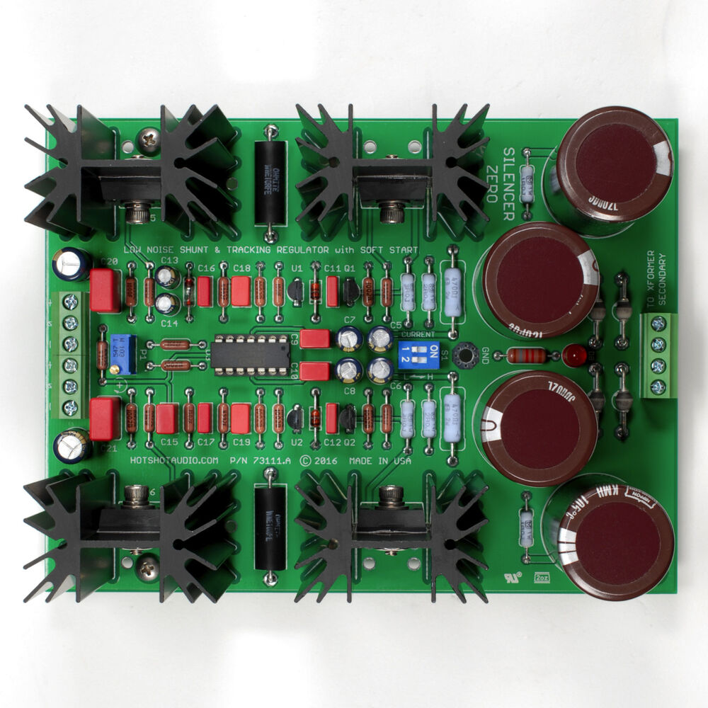 Assembled & Tested Low Noise Dual-Volt Shunt & Tracking