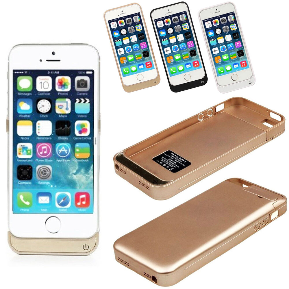 ebay iphone 5s cases 4200mah iphone 5 5s 5c external battery backup charging 14041