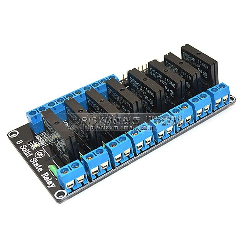 V channel ssr solid state relay module omron for