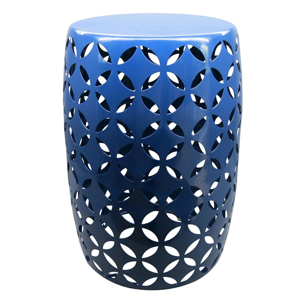 Round Steel Plant Stand Indoor Outdoor Side Table Flower