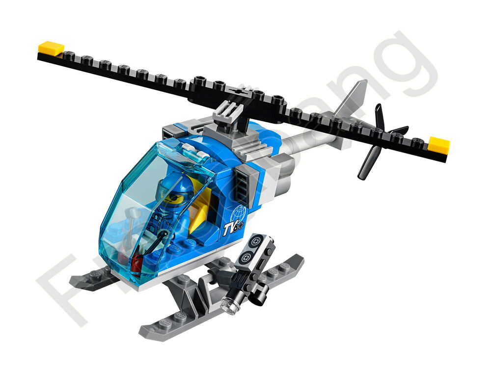 LEGO 60097 City Square TV Helicopter & Pilot (Split from 60097 ...