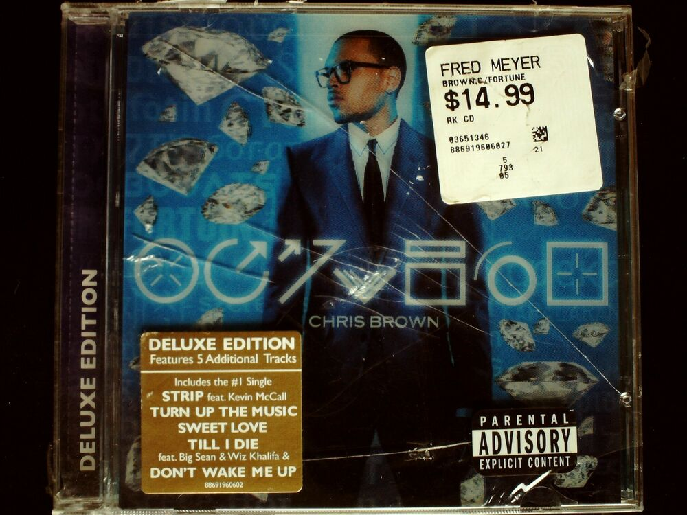 Chris Brown - Fortune CD Sealed Deluxe Edition 19 Tracks ...