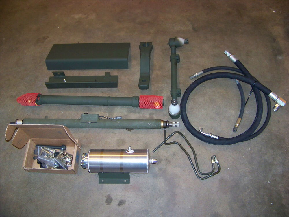 Power Steering Kit For Military Truck Deuce M 35 M 109 Ebay