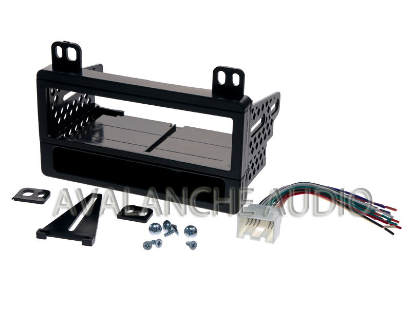 ford car stereo dash kit with wiring harness install kit ... iphone ford wiring harness kits