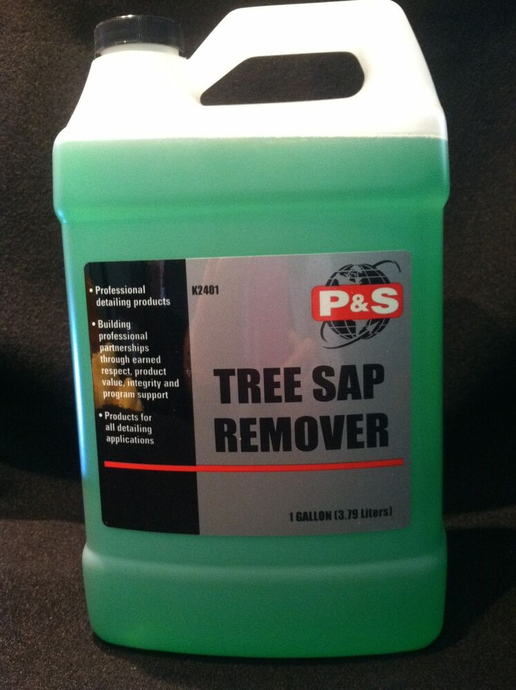 tree sap remover auto detailing glass cleaning p s product 1 gallon ebay. Black Bedroom Furniture Sets. Home Design Ideas