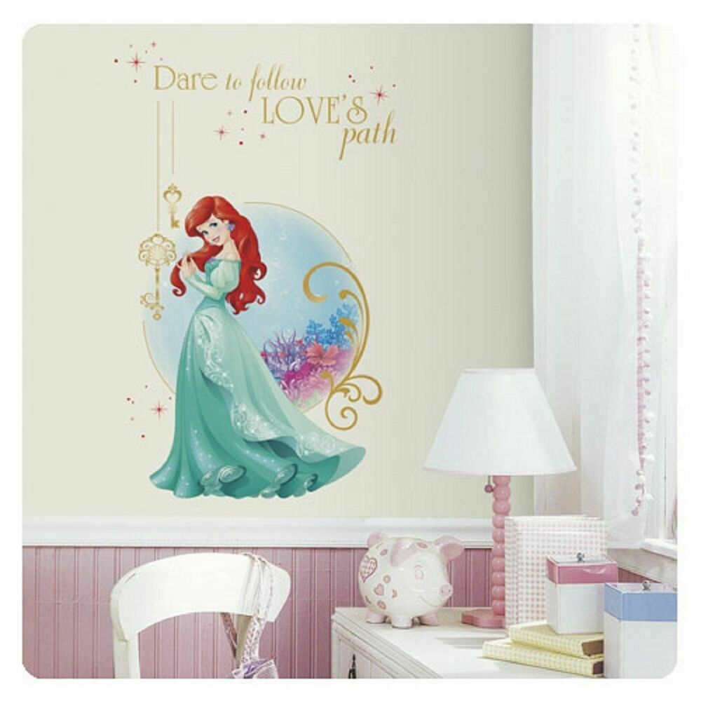 disney princess ariel the little mermaid wall mural. Black Bedroom Furniture Sets. Home Design Ideas