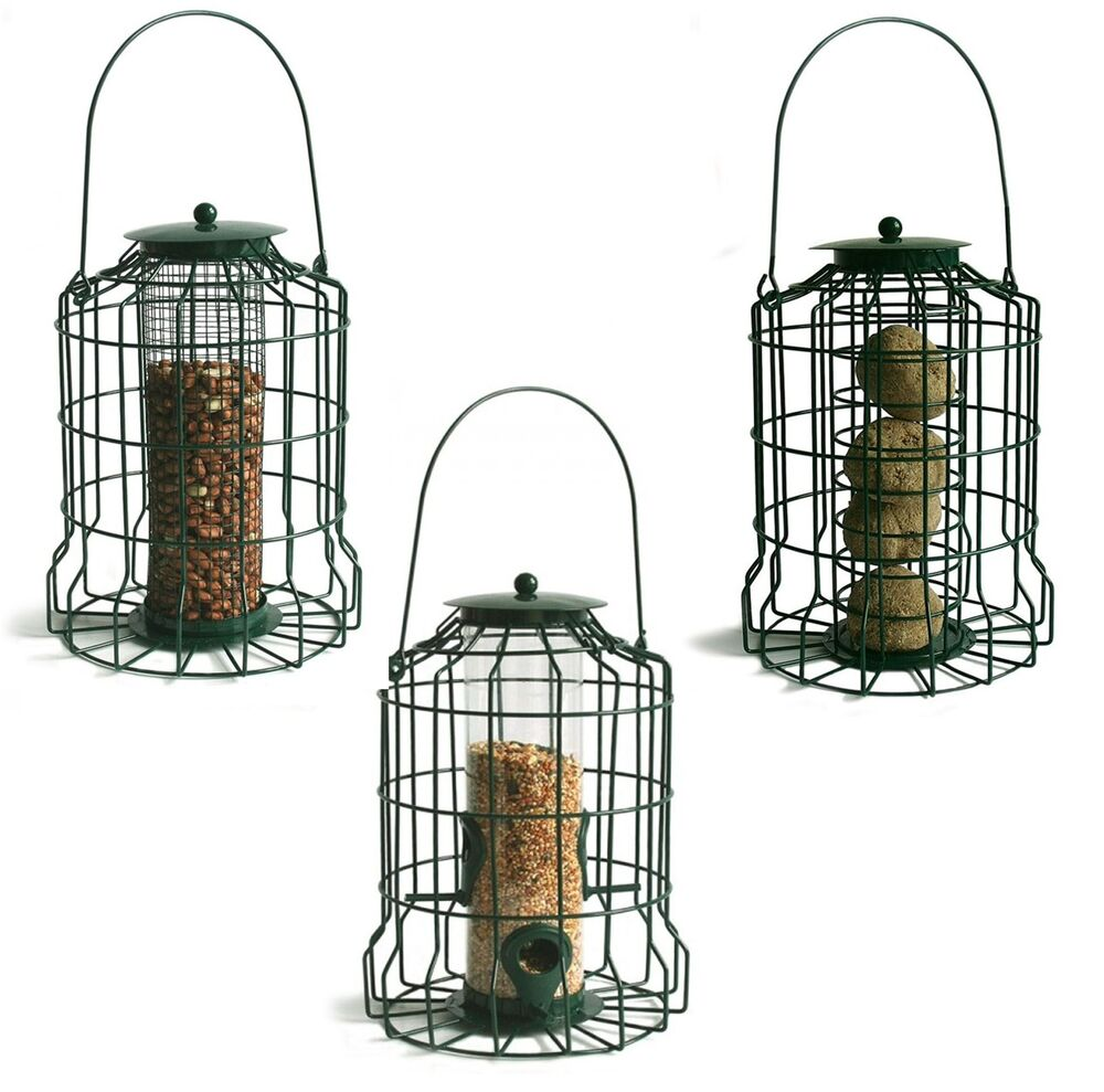 Gardman Squirrel Proof Guard Bird Fat Snax Seed Nut Feeder