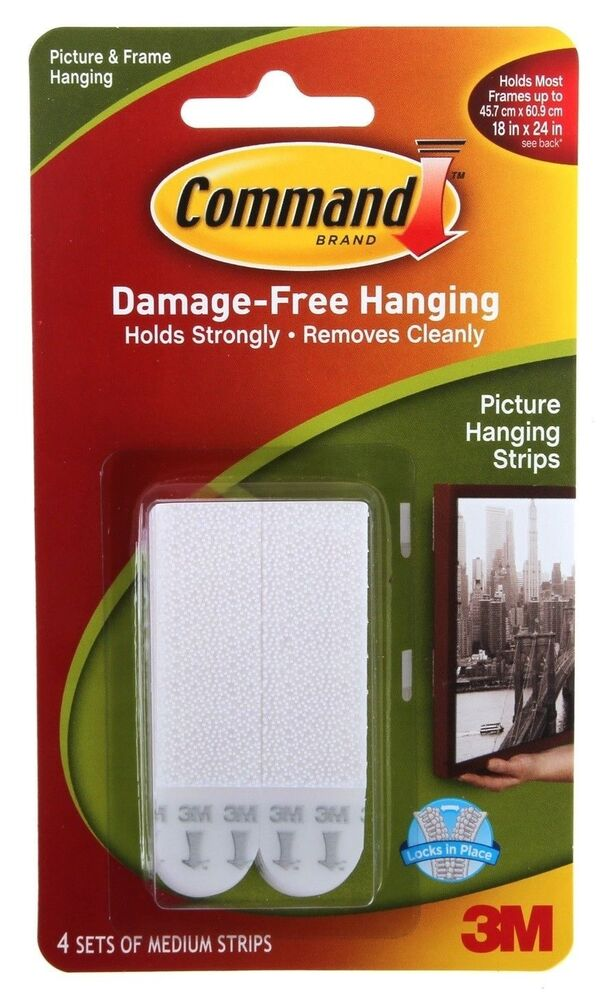 3m Command Medium Adhesive Strips Damage Free Photo