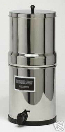 New British Berkefeld Water Filter System Ss W Four 7