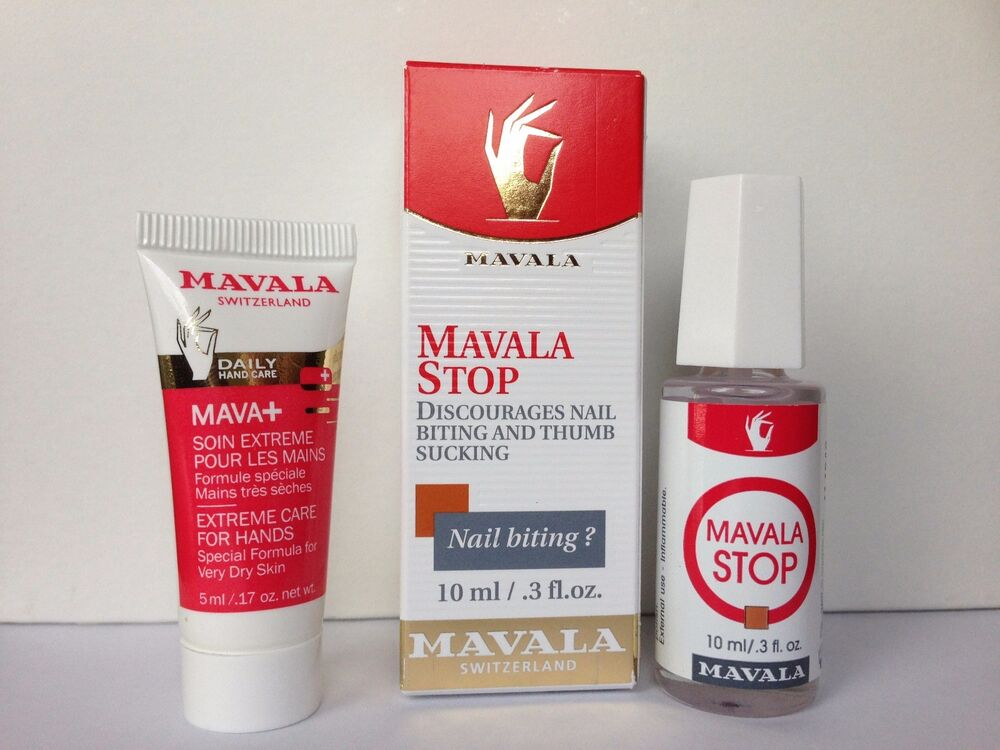 MAVALA STOP FOR NAIL BITING AND THUMB SUCKING 10 ML W/ FREE GIFT ...