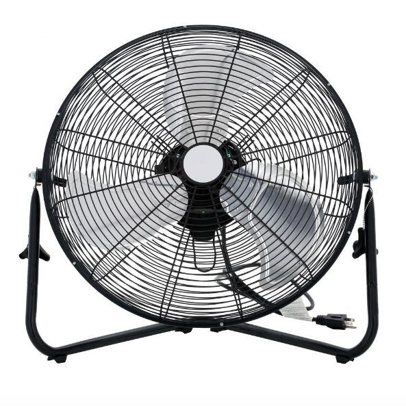 Portable Floor Fans : High velocity floor fan in portable house cooling