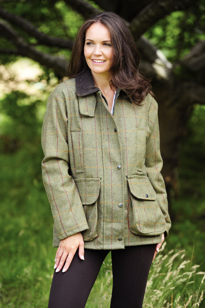Tweed Ladies Crompton Jacket Shooting Hunting or Riding Derby Countrywear | eBay