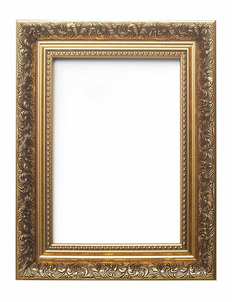 ornate swept antique style picture frame photo frame poster frame french style ebay. Black Bedroom Furniture Sets. Home Design Ideas