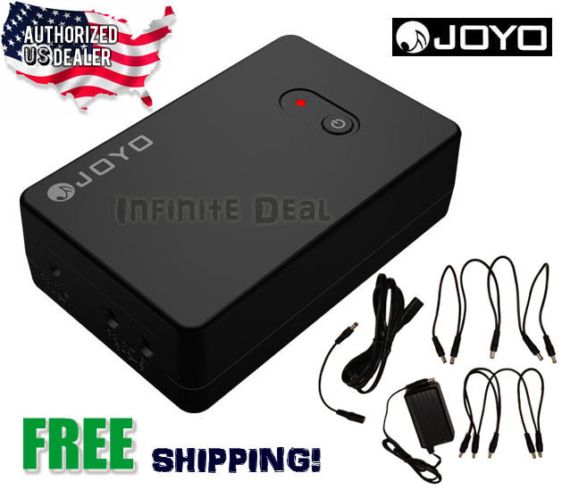 new joyo jmp 01 portable rechargeable guitar effects pedal power supply 9v usa ebay. Black Bedroom Furniture Sets. Home Design Ideas