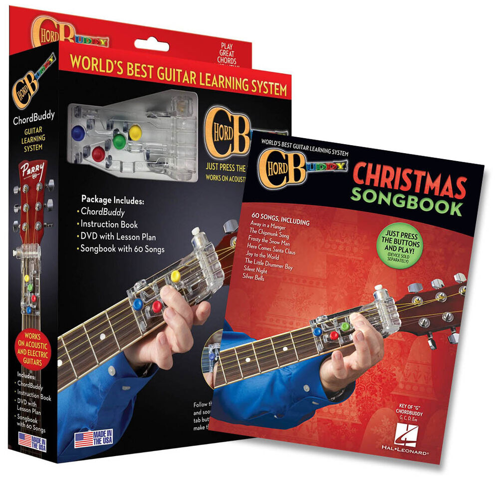 chord buddy guitar learning system christmas edition book play today chordbuddy 1480369721 ebay. Black Bedroom Furniture Sets. Home Design Ideas