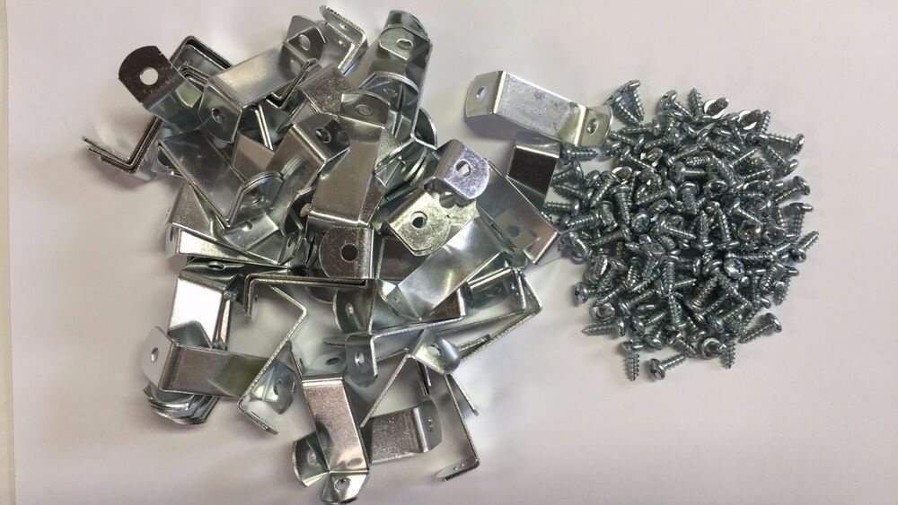 100 X 1 1 4 Quot Picture Frame Offset Clips With Screws For