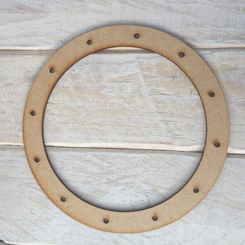 Mdf wood dreamcatcher wooden make your own dream catcher for How to make a wooden ring