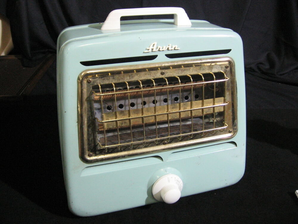 Teal Vintage 1940 S Arvin Automatic Model 5729 Space