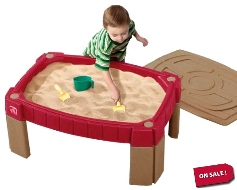 Step Naturally Playful Sand And Water Kids Activity Table