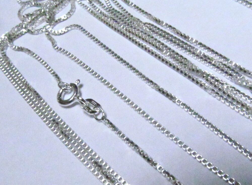 Sterling Silver Cable Chain Bulk