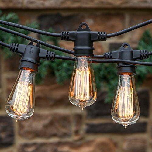 Feit Outdoor String Lights Not Working: 48 Feet Ambience Outdoor Commercial Industrial Strenght