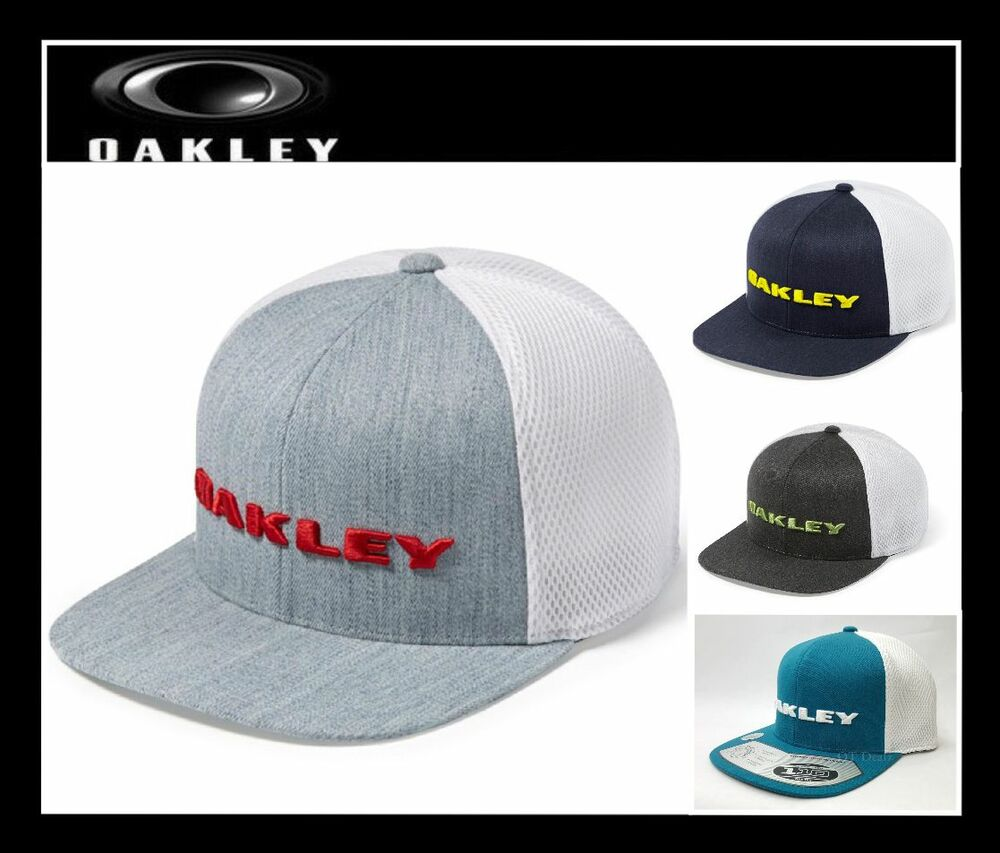OAKLEY HEATHER HAT GOLF 110 FLEXFIT TECH SNAP-BACK CAP