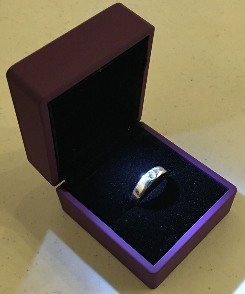 Wedding Ring Gift Box : ... LED Lighting Jewelry Engagement Wedding Ring Gift Box BR0000L eBay