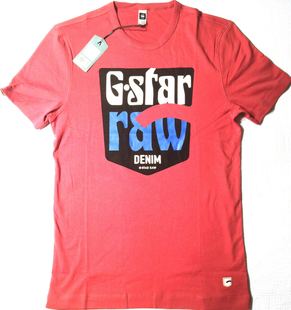 798edf627a6 G-Star T-Shirt Red  SENDAI R T S S  NEW XL RRP  119 Mens Stunning