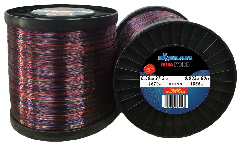 2lb spool monofilament fishing line multicolor 25 30 40 50 for 30 lb fishing line